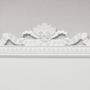 Gustavian Canopy Bed Headboard Detail