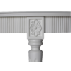 Gustavian Breakfast table joint details