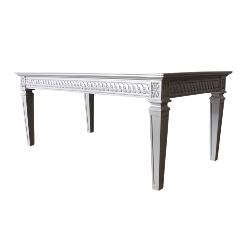 Gustavian Coffee Table with grey finish