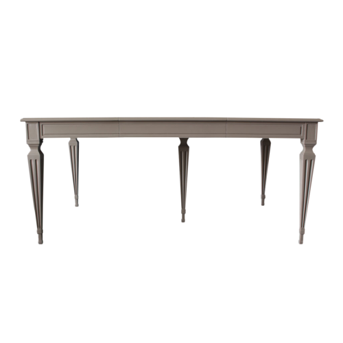 Manor extendable dining table in grey