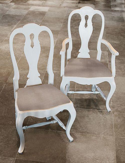 Rococo plain chairs